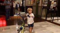 """(Rekor:83) Dünya En Genç Bisiklete Binme Rekoru (3 Yaş, 16"""")  (İstanbul, 02 Ekim 2019)"""