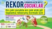 (Rekor:53) En Çok Çocukla En Çok Atık Pil Toplama Rekoru (Ataşehir, 15 Mayıs 2015)